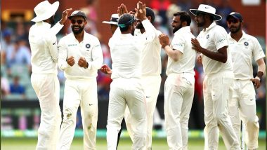 Live Cricket Streaming of India vs Australia 2018-19 Series on SonyLIV: Check Live Cricket Score, Watch Free Telecast of IND vs AUS 1st Test Match, Day 5, on TV & Online